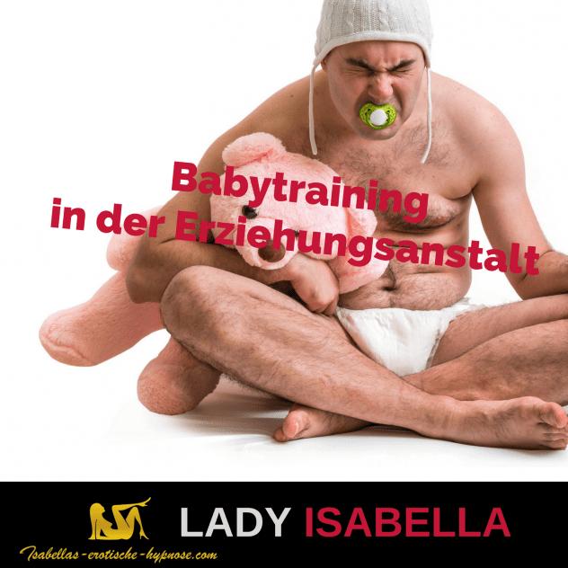 """Bild zur erotischen Hypnose """"Babytraining in der Erziehungsanstalt"""""""