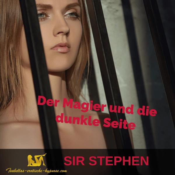 Der Magier und die dunkle Seite von Sir Stephen -Coverbild