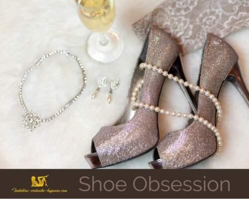 Bild mit Fuß und High Heelszur Hypnose Shoe Obsession