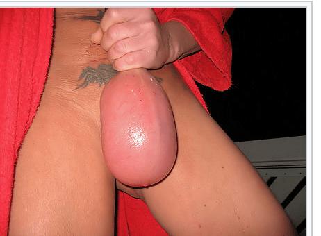 Ballooning für die Schwanzfolter
